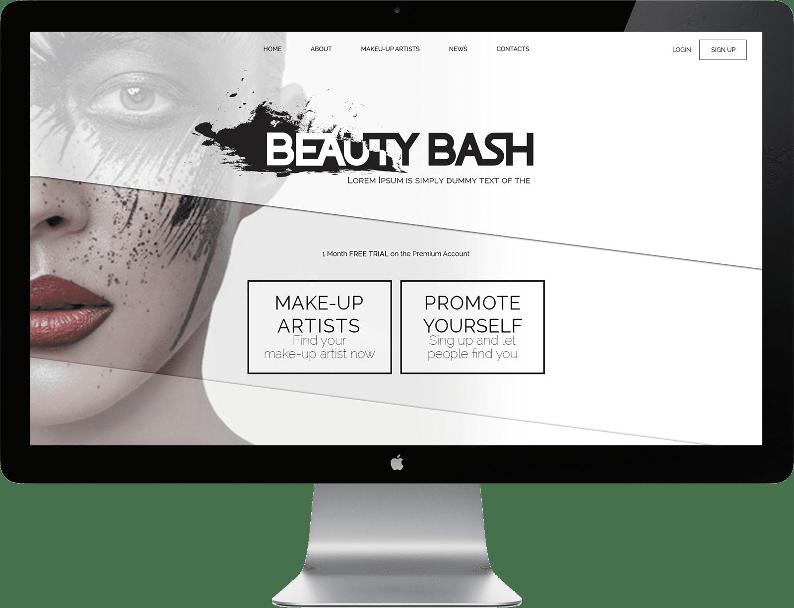 MAke up - web design-min